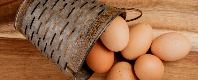 kananmunat korissa