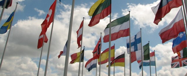 neuvoston päätelmät; EU-maiden lippuja